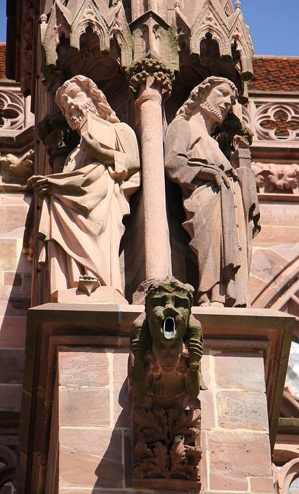 Stone Figure, Gargoyle, Sculpture, Statue