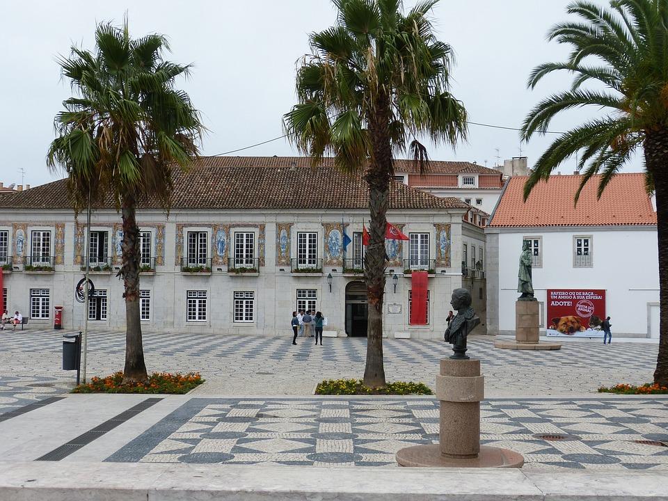 Cascais, Portugal, Space, Monument, Statue