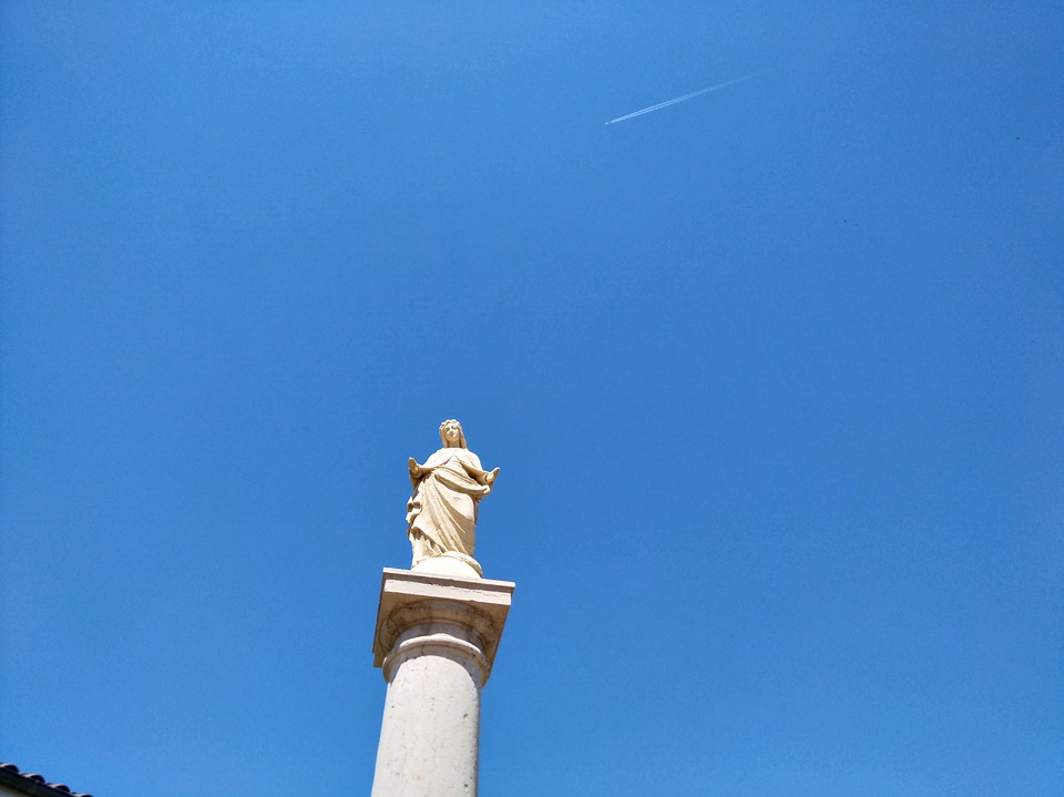 Statue, Monument, Stone, The Boisse