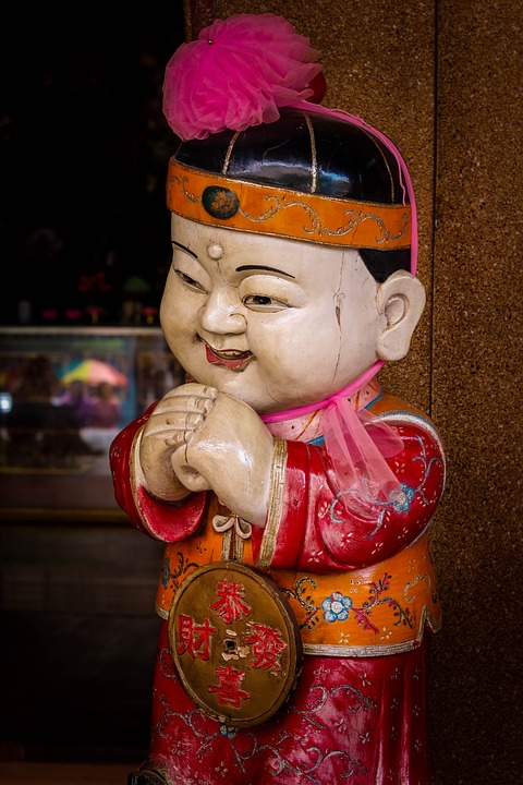 Statue, Doll, The Chinese People, Faith, Best Regards