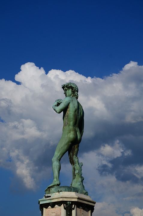 Statue, Sculpture, Marble, Florence, Italian, Tuscany
