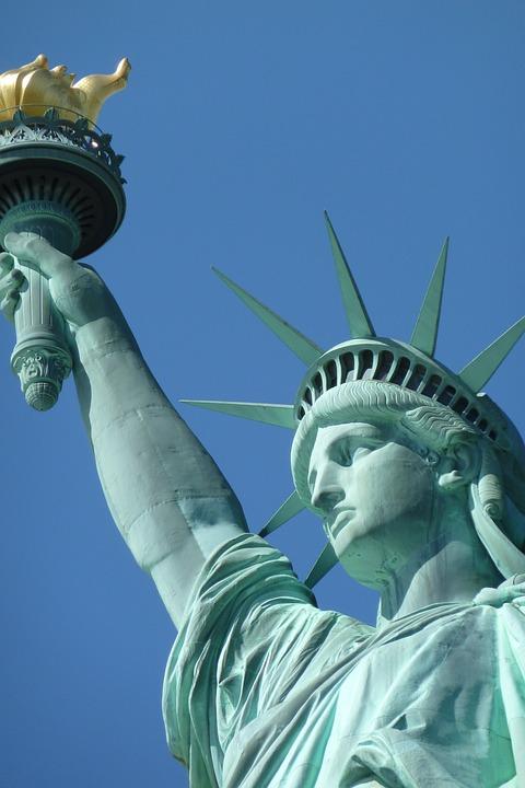 Statue, United States, Statue Of Liberty, America