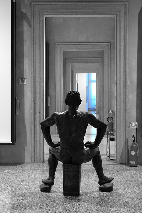 Venice, Museum, Statue