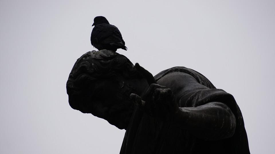 Vienna, Bird, Statue, Art, Birds, Sculpture