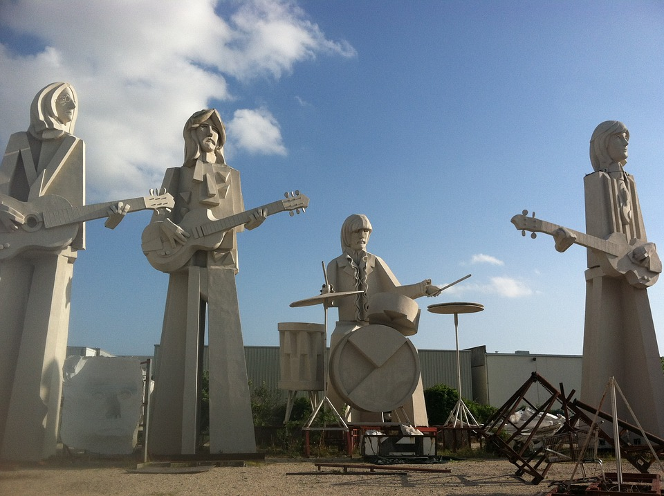 Beatles, Houston, Statues