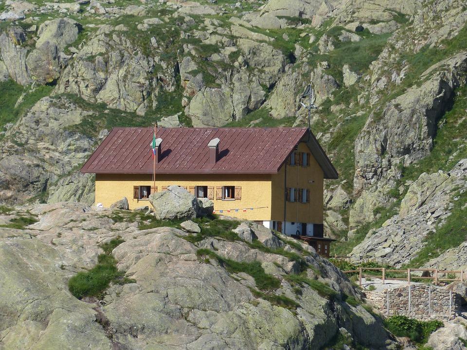 House, Hut, Mountain Hut, Cai, Alpine Club, Stay, Eat