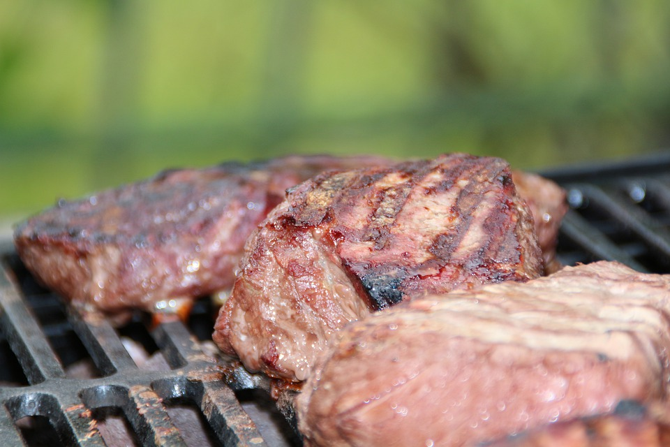 Steak, Steaks, Barbecue, Summer, Grill, Meat, Gas Grill