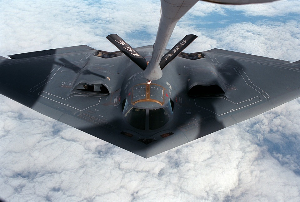 Aircraft, Delta Wing, Stealth Bomber, Radar