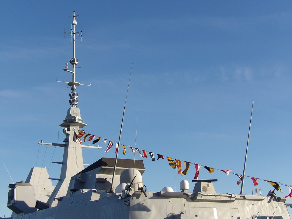 Boat, Ship, Military, Navy, Frigate, Mast, Stealth