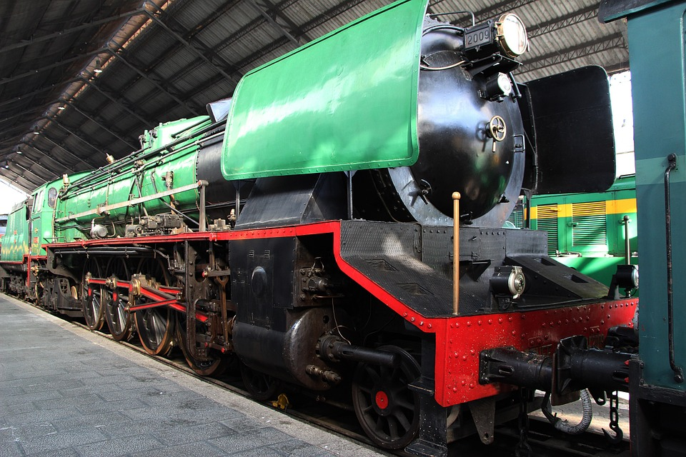 Railway Museum, Steam Engine, Train