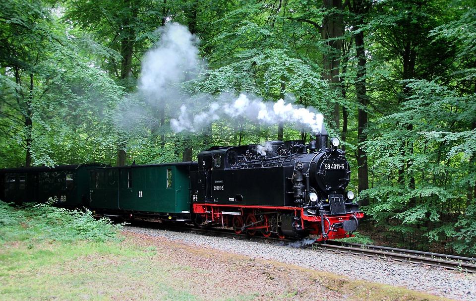 Railway, Steam, Loco, Steam Locomotive, Train