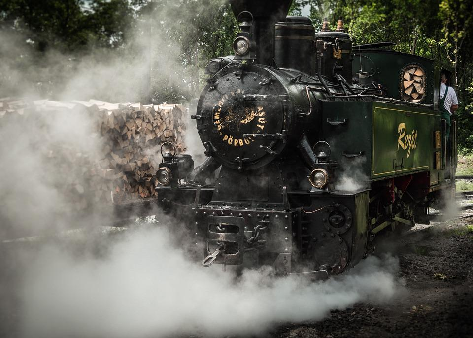 Train, Steam, Locomotive, Railway, Railroad, Engine