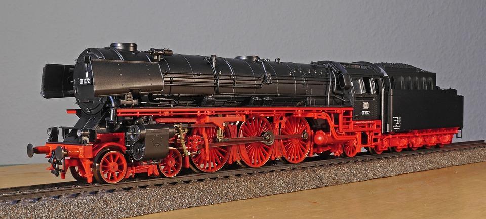 Steam Locomotive, Br01-10, Br 01-10, Carbon, Grate