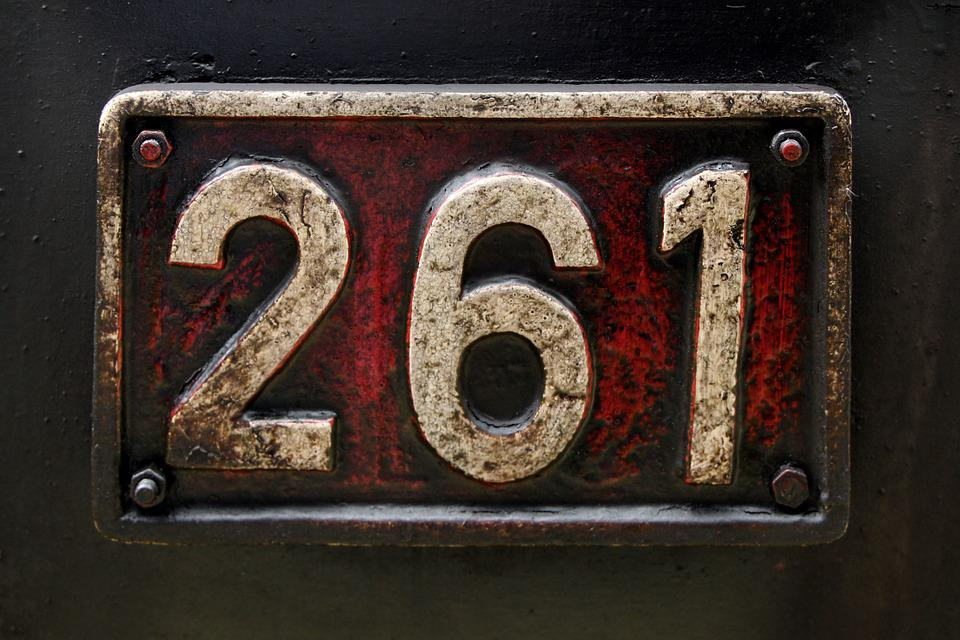 Number, Steam Locomotive, Railway