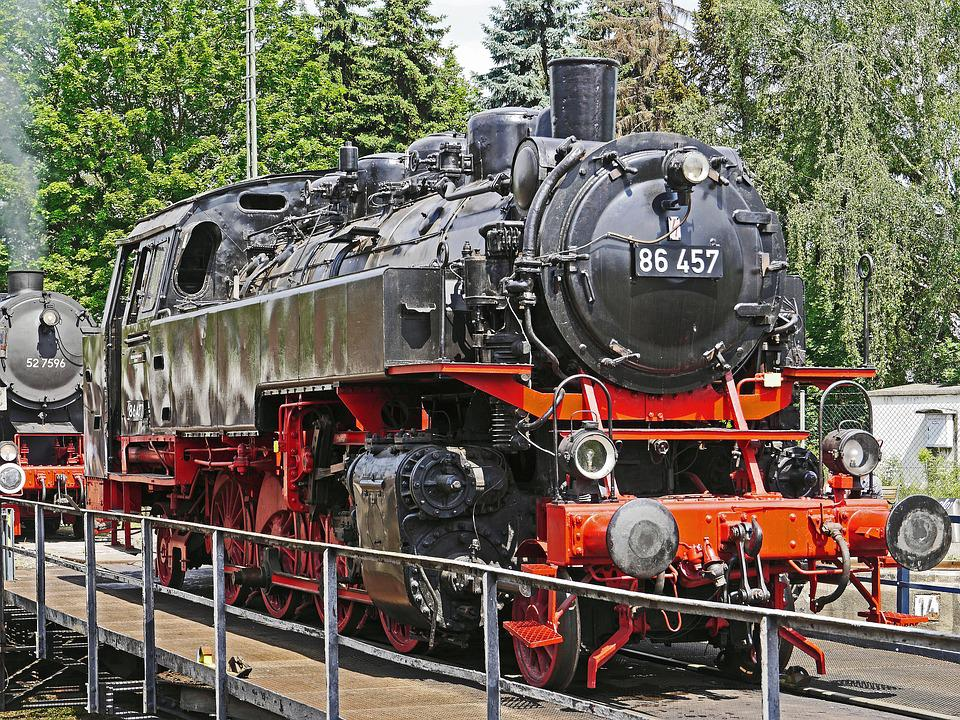 Steam Locomotive, Tank Locomotive
