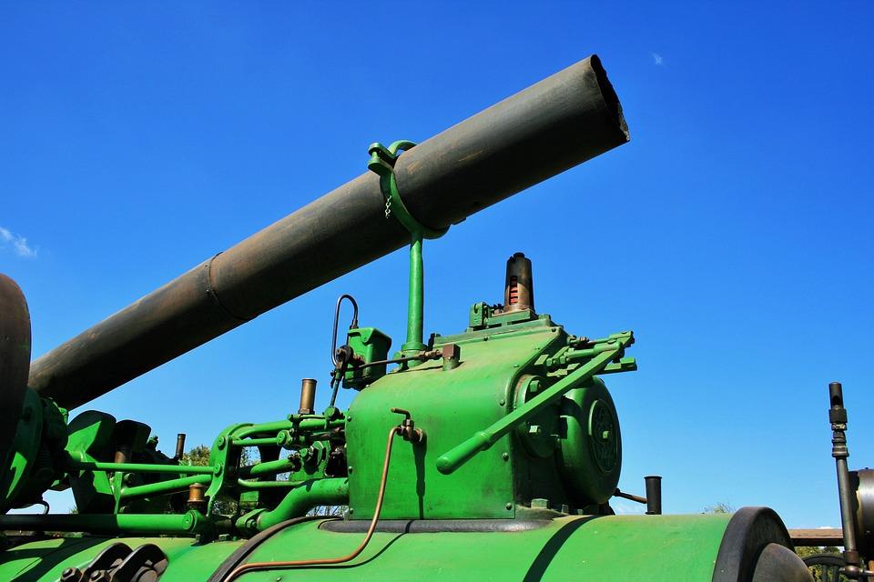 Steam Engine, Engine, Steam, Power, External, Mobile