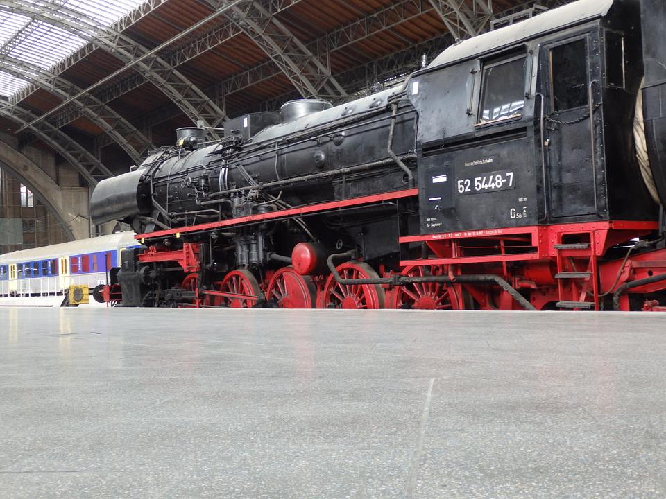 Train, Transport, Motor, Railway Line, Steam, Coal