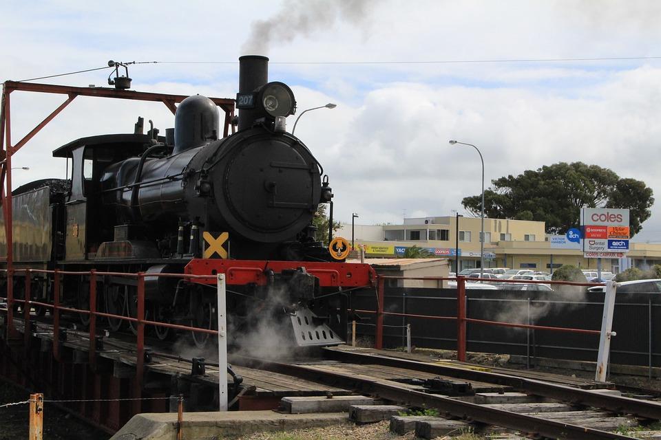 Train, Steam, Locomotive, Railway, Railroad, Coal