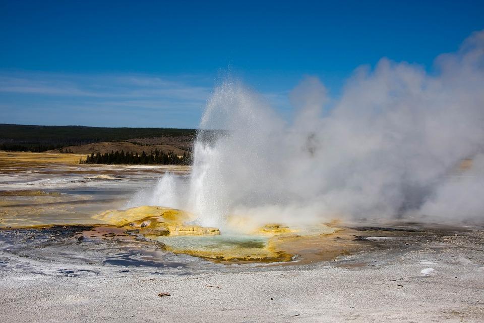 Geyser, Waters, Steam, Thermal Spring