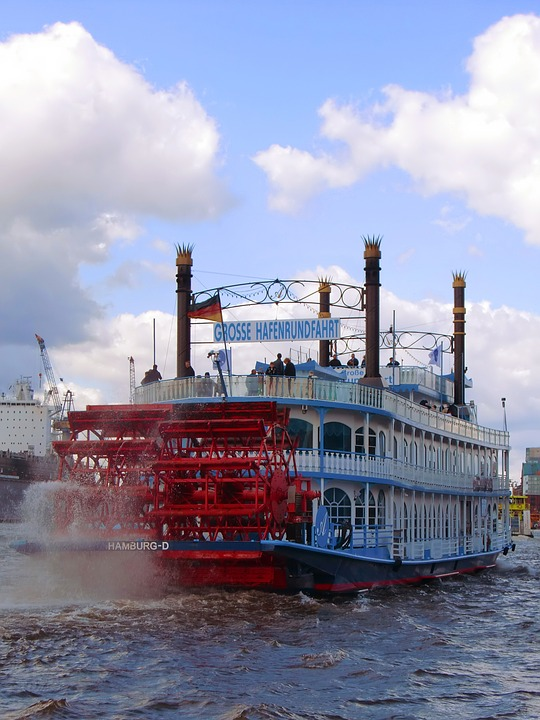 Hamburg, Harbour Cruise, Steamboat, Ship