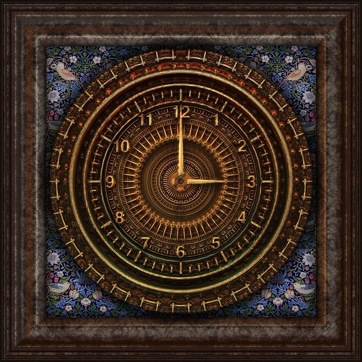 Steampunk, Clock, Victorian, Timepiece, Machine
