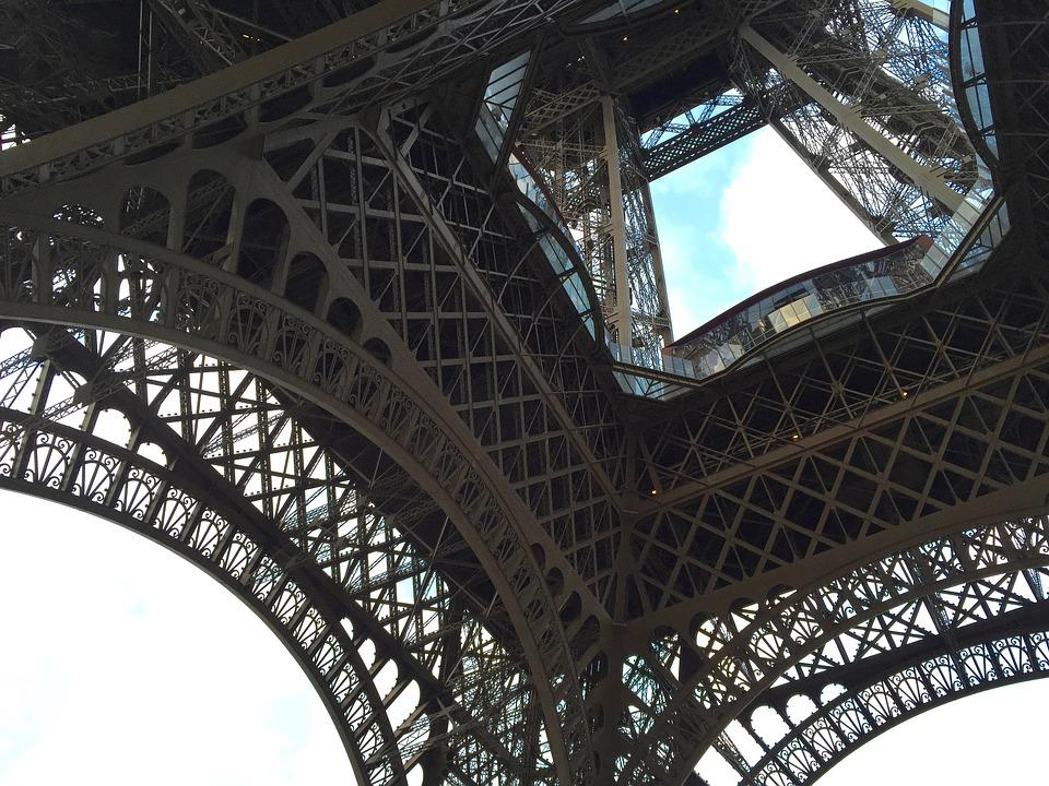 Eiffel Tower, Steel, Architecture, France