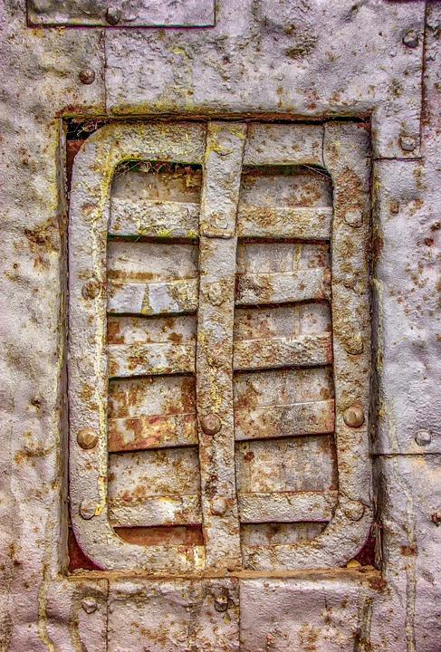 Architecture, Metal, Closure, Lid, Door Hardware, Steel