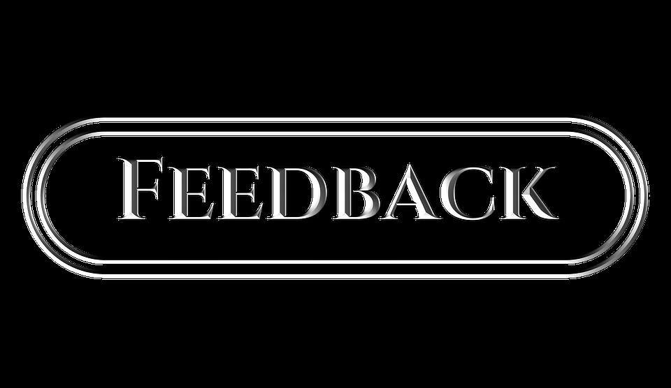 Feedback, Feed Back, Button, Silver, Steel