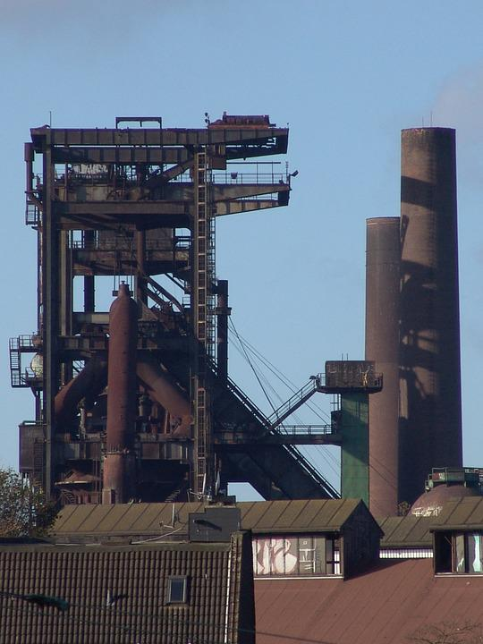 Dortmund, Phoenix-west, Hoesch, Old, Steel Industry
