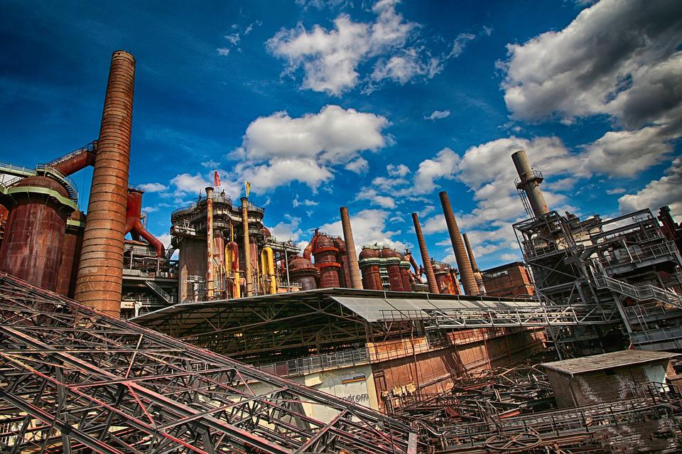 Ironworks, Blast Furnaces, Steel, Steel Mill