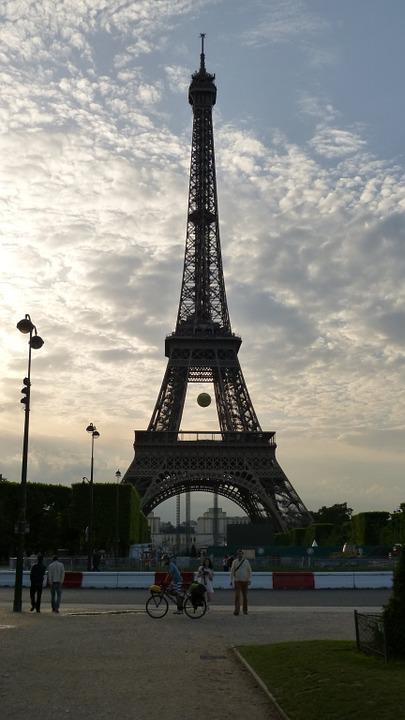 Paris, Eiffel Tower, Steel Structure, Architecture