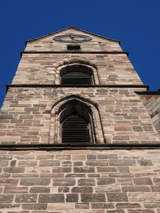 Martin Church, Church, Steeple, Basel