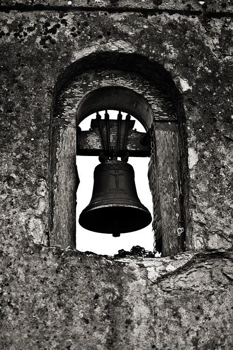 Bell, Monastery, Church, Bell Tower, Ring, Steeple