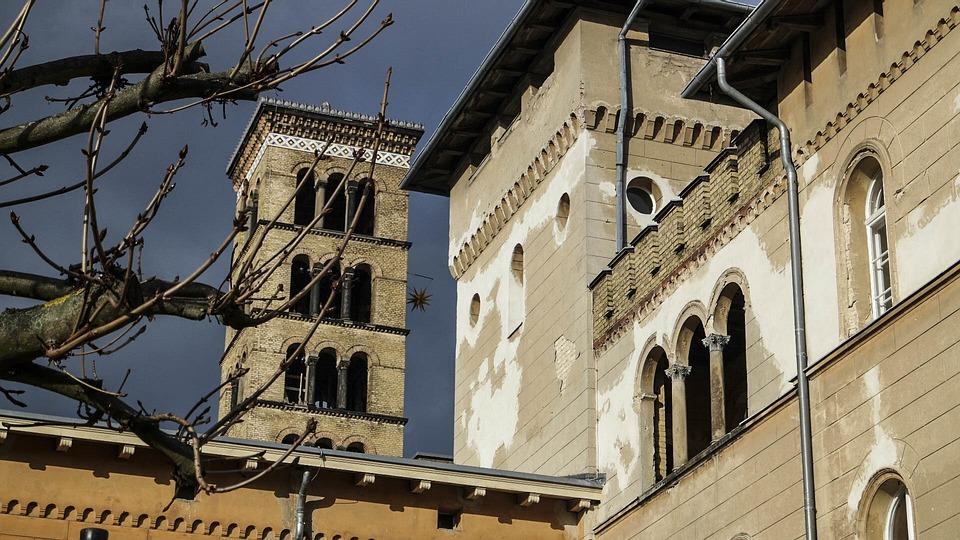 Church Of Peace, Church, Sanssouci, Potsdam, Steeple