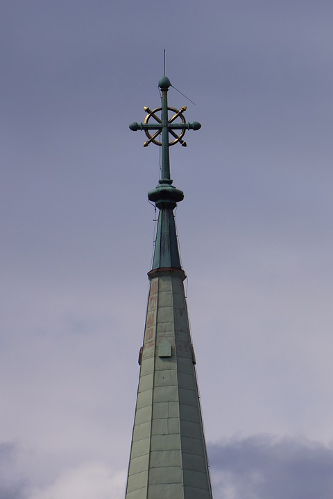 Steeple, Cross, I Brought The Thunder, Top, Roof