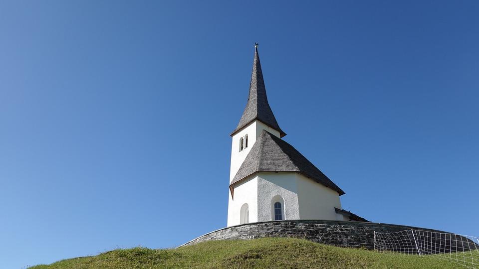 Church, Graubünden, Religion, Spring, Steeple