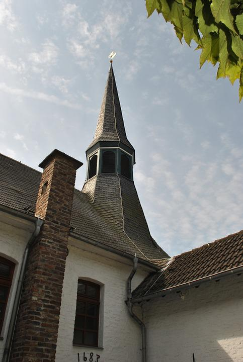 Church, Steeple, Hofkirche, Lane