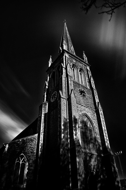 Church, Steeple, Architecture, Religion, Old, Building