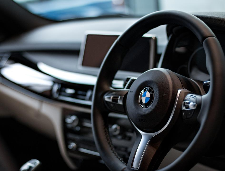 Free Photo Steering Wheel Car Bmw Dashboard Max Pixel