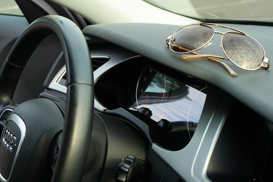 Sunglasses, Audi, Steering Wheel, Fashionable, Leisure
