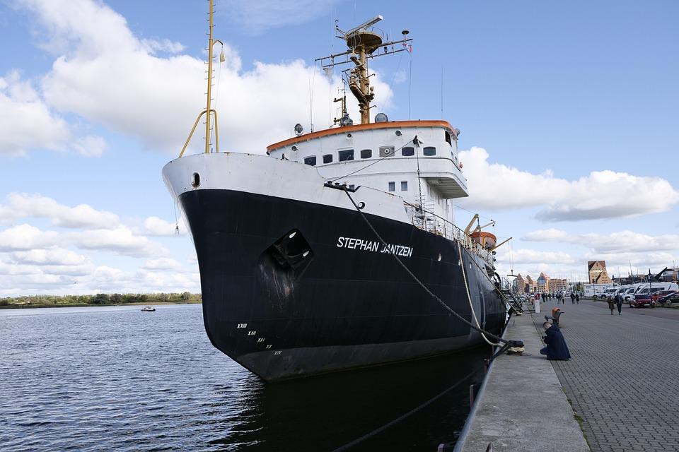 Icebreaker, Museum Ship, Stefan Jantzen, Maritime