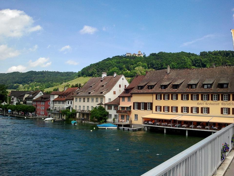Stein Am Rhein, Rhine, River, Water