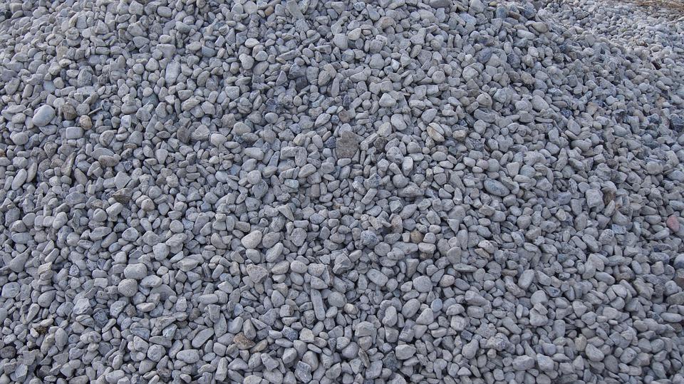 Kies, Steine, Geröll, Material