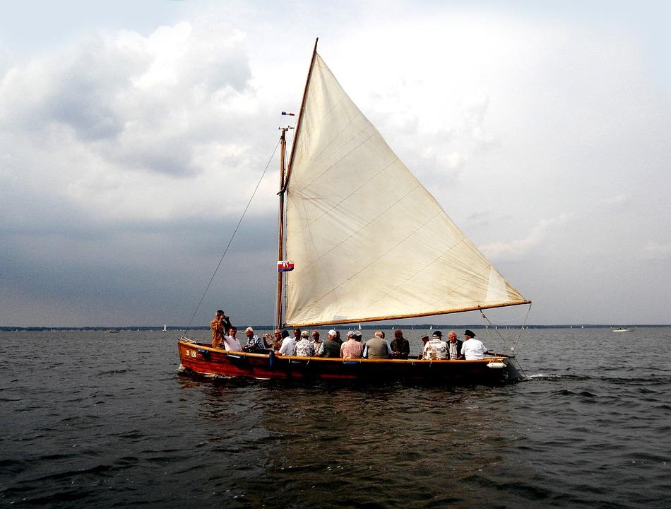Sailing Boat, Steinhuder Sea, Boat Trip, Singer Tour