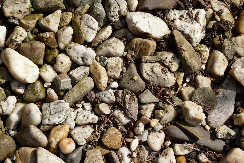 Pebbles, Nature, Steinig, Stones, Background, Steinchen