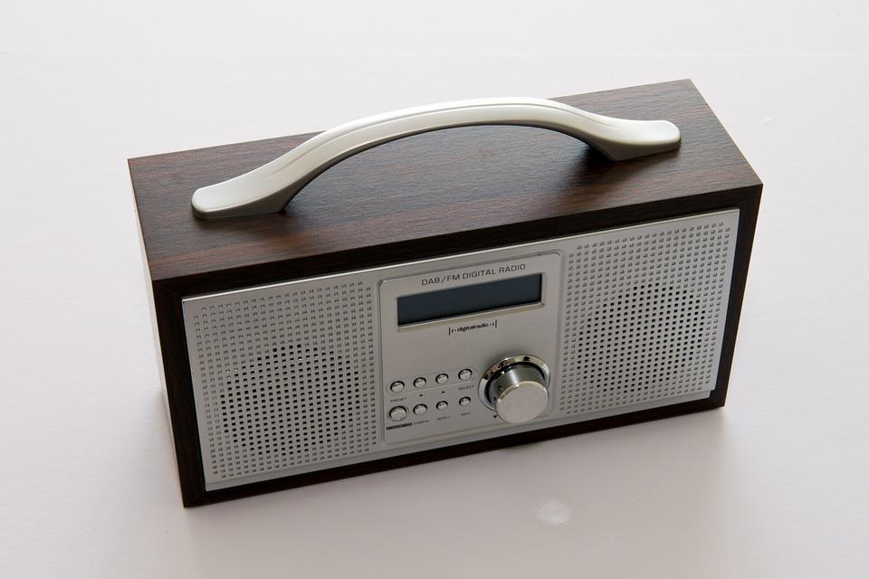 Portable Radio, Dab, Digital, Stereo, Metal, Audio