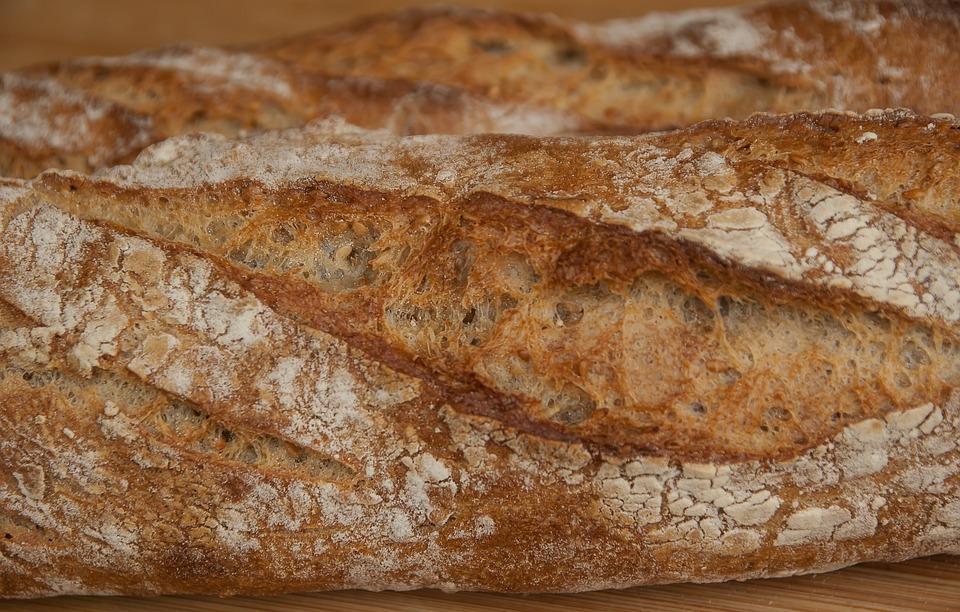 Boulanger, Bread, Stick, Bakery, Flour