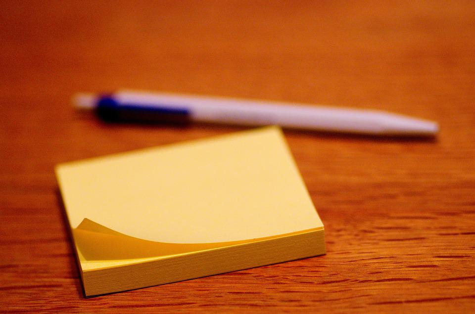 Post It, Stickies, Adhesive Note, Sticky Notes, Paper