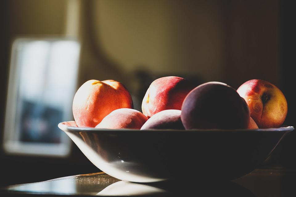 Still Life, Peaches, Fruit, Healthy, Fruits, Ripe