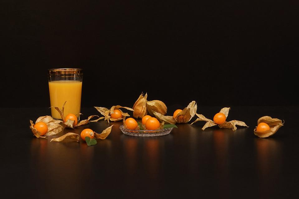 Still Physalis Life, Peruviana, Cape Gooseberry, Drink